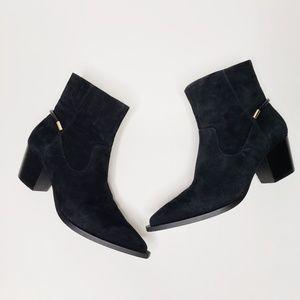 IMNYC Black Suede Boots Sz 7